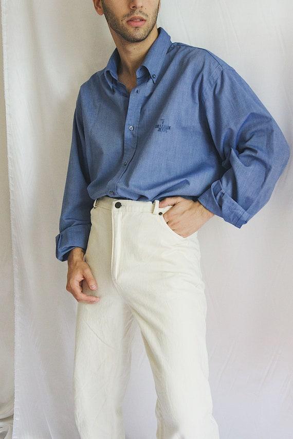 Trussardi 90s shirt Blur Shirt Trussardi Men Minim