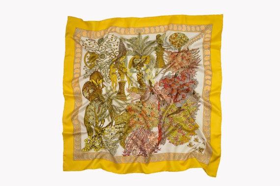 """Hermès Vintage Scarf """"Les Legendes de l Arbre"""" by"""