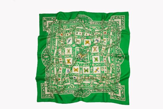 """Hermes vintage scarf named """"Joyaux de l'ete"""" by An"""