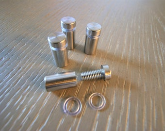 """1/"""" X 1/"""" Stand off Screws 25mm X 25mm Floating Frame Framing Mounting accessories"""