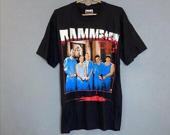 RAMMSTEIN T-shirt rammstein Nostalgie Movie Thé Black