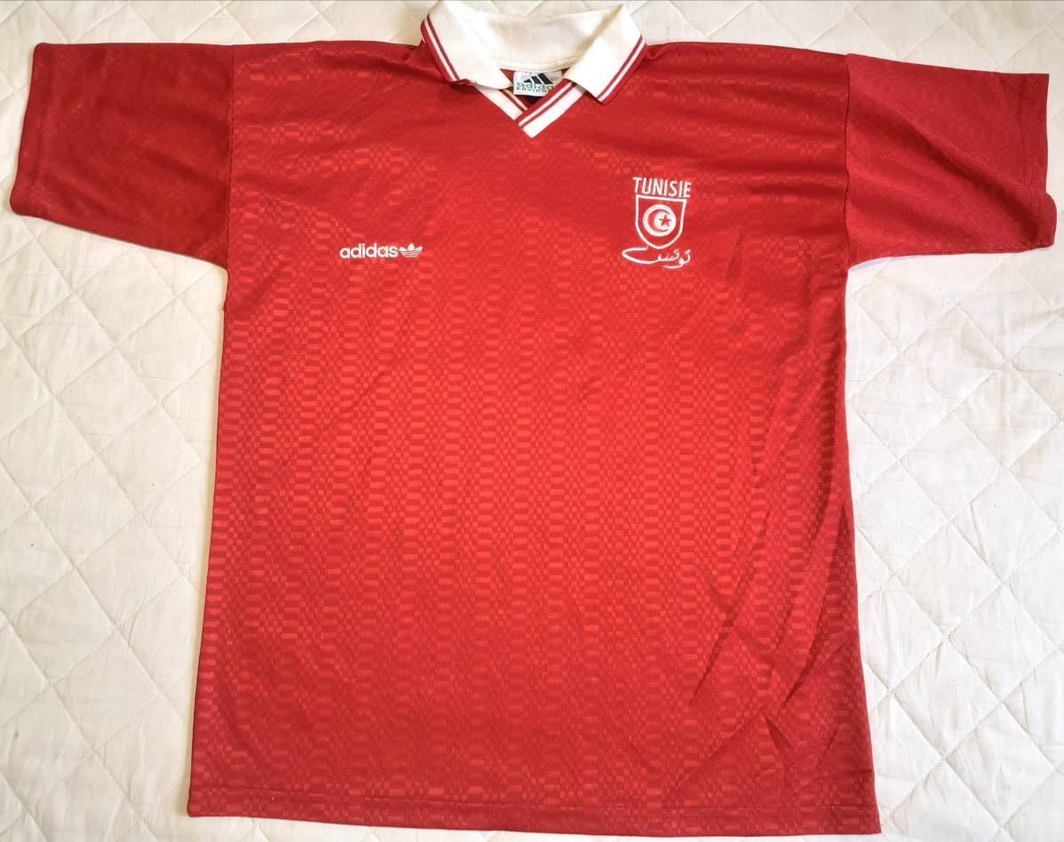 Jersey Tunisia 1992-1994 away Adidas Vintage | Etsy