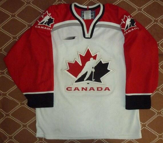 Jersey Hockey Canada Ice Hockey Team Bauer Vintage