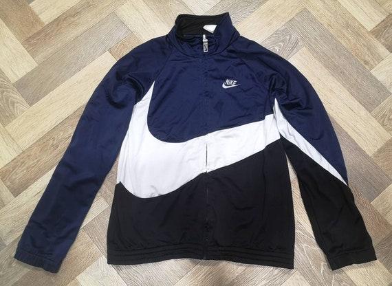 Vintage Nike Swoosh Big Logo Windbreaker