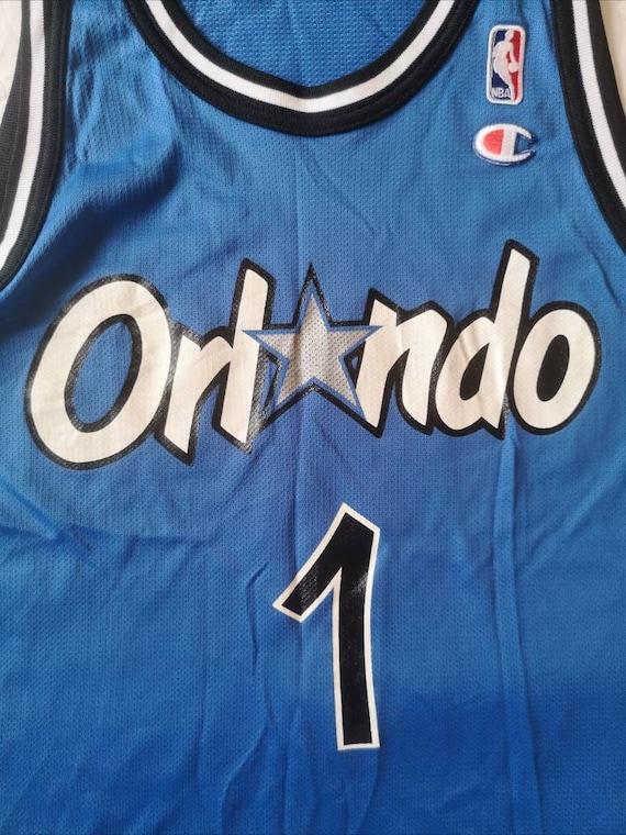 Authentic jersey Hardaway Orlando Magic 1990's Ch… - image 4