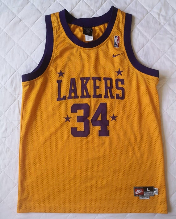 Jersey Shaquille O'Neal Los Angeles Lakers NBA Nik