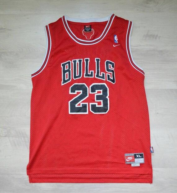 Jersey Michael Jordan Chicago Bulls NBA Nike Vinta