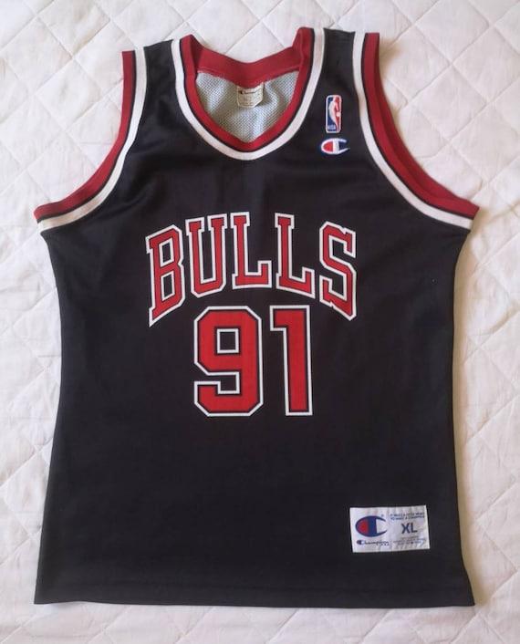 Authentic jersey Dennis Rodman Chicago Bullls 1996