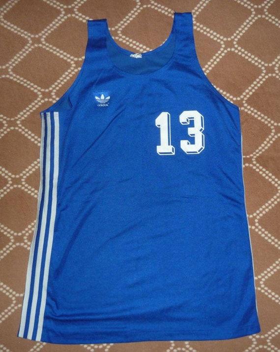 Jersey Basketball Adidas 1970's Vintage
