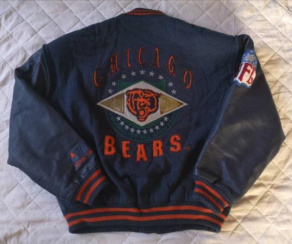 Bomber Vincent Chicago Bears Campri 1990's NFL