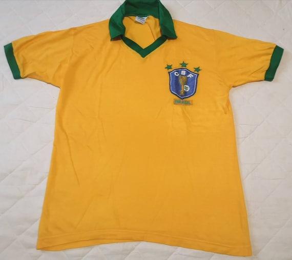 Vintage jersey Brazil 1980's Campea