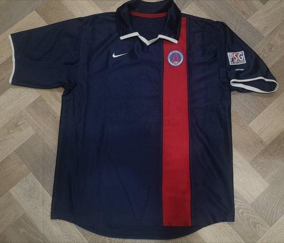 PSG PARIS SAINT GERMAIN SHIRT CAMISETA RETRO VINTAGE 2002 2003 RONALDINHO