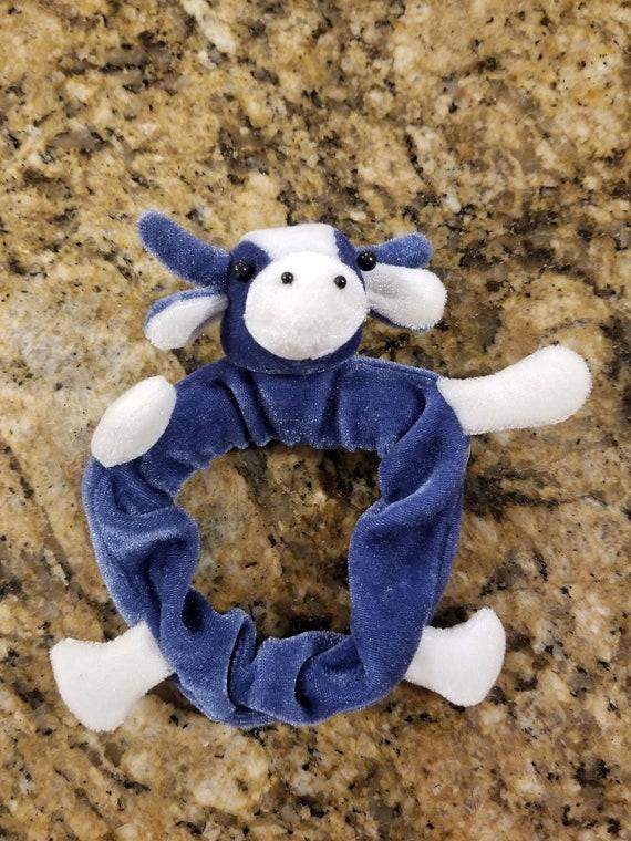 Vintage 1990s Cow Bun Wrap Scrunchie