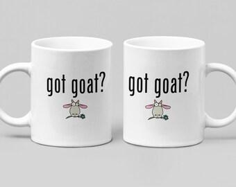 Got Goat? Funny mug - Large 11-15oz mug - Mugs for Women, Friend, Spouse - Perfect Birthday, Christmas, Hanukkah or Just Because gift