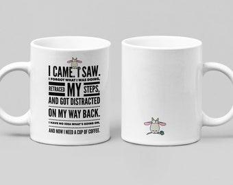 Need Coffee 3 - funny coffee mug - large 11-15oz coffee/tea mug - mugs for women, friend, or spouse - perfect birthday, Christmas, Hanukkah