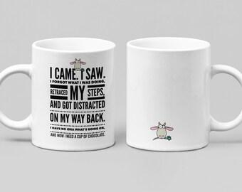 Need Chocolate 3 - Funny mug - large 11-15oz mug - mugs for women, friend or spouse - perfect birthday, Christmas, Hanukkah or Just Because