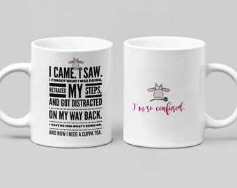 Funny Tea Mug - Large 11-15oz mug - Mugs for Women, Friend, Boss, or Spouse - Perfect Birthday, Christmas, Hanukkah gift.....