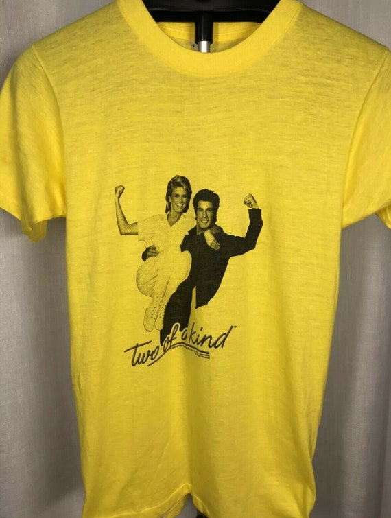 Vintage Two Of A Kind Movie Promo T-Shirt 1983 80S
