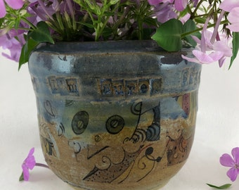 Divorce Pot-Nope It's Not Me Vase-Break Up Vase-Moving On With Life Pot-Statement Vase