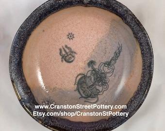 Ceramic Bowl-Octopus Bowl-Pink and Purple Bowl-Octopoda Bowl