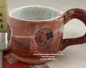 Mug-Kimono Pattern Mug-Sturdy Mug