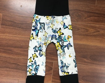 scalable flower pattern pants