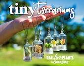 Tiny Terrarium Real Live Pet Plant - Cactus - Succulent - Miniature Key Chain - Necklace - Mother 39 s Day Gift - Fairy Garden - Mini Plant
