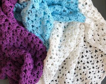 Rectangle shawl, Crochet pattern, Simone Wrap, Lacy Pashmina, Digital Download, Pdf Pattern ONLY