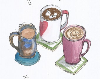 Metamour Mugs greeting card JPEG download
