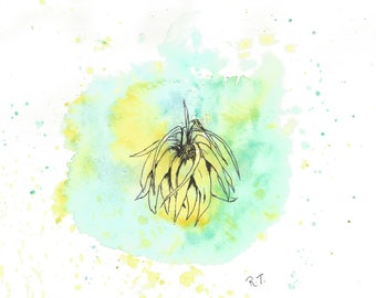 Hope: watercolour limited edition print