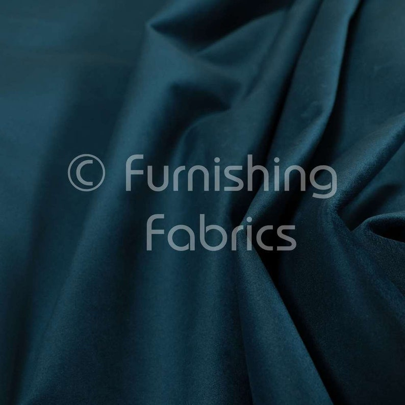 Free Worldwide Delivery Furnishing Fabric New Jacquard Plain Soft Raised Textured Chenille Upholstery Furniture Furnishings Navy Blue