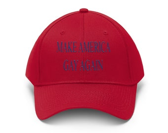 Cap Funny Gift Make Democrats Great Again Snapback Hat Political MAGA Liberal Red Libertarian Conservative