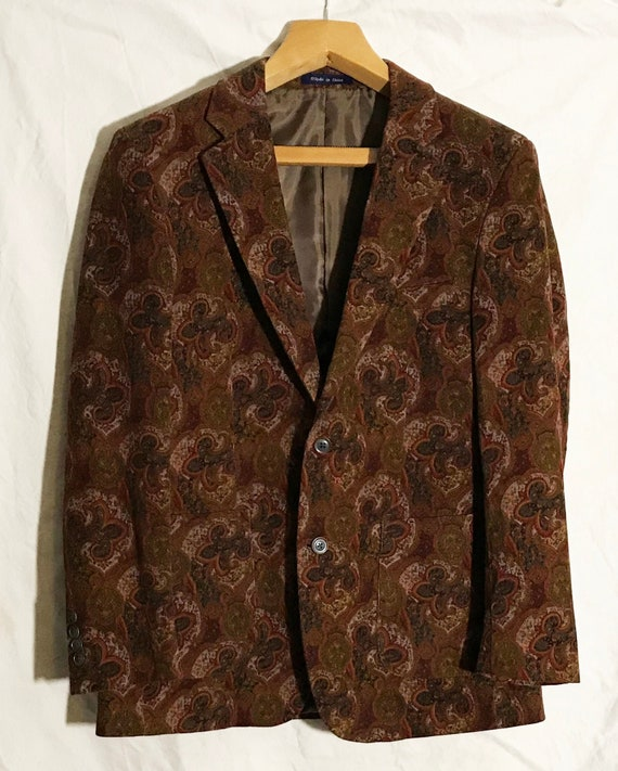 Alan Flusser Men's Corduroy Jacket