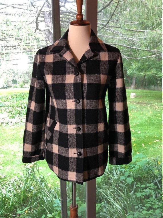 Women's Vintage Pendleton Wool shirt jacket