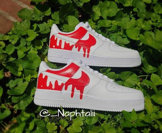 Af1 Panda Drip Nike Custom | Etsy