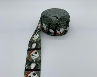 "NIGHTMARE Before Christmas grosgrain ribbon 1.5/"" x 3 ft"