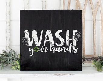 Wash your Hands SVG, Handwashing, Hygiene, Social Distancing, Quarantine, Awareness, Bathroom | svg png dxf | Cricut, Silhouette cut files