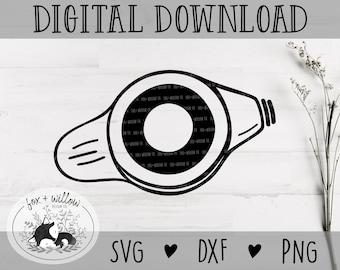 MicKey Button SVG | Tubie SVG | Feeding Tube SVG | Feeding Tube Awareness svg | Feeding Button svg | G-Tube svg png dxf files