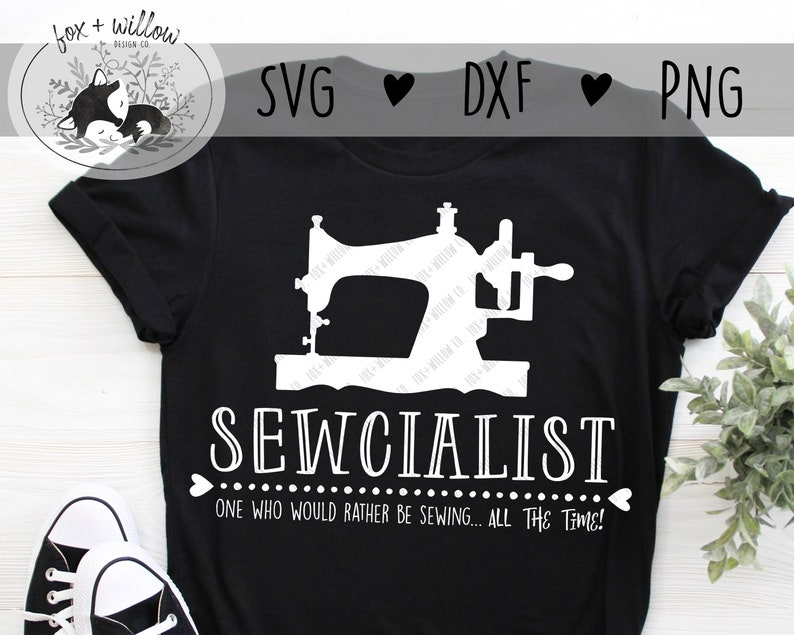 Sewcialist SVG  Funny Sewing SVG  Seamstress SVG  Sewing image 0