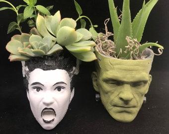 Frankenstein planter