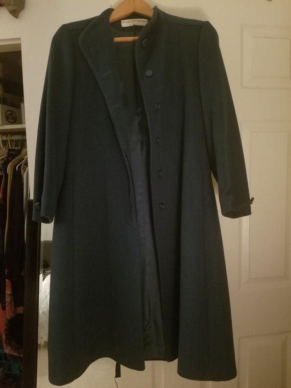 Vintage long wool coat