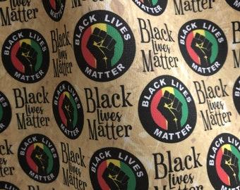 Fabric, printed fabric - Black Lives Matter!