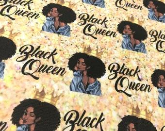 Fabric, printed fabric - Black Queen 2