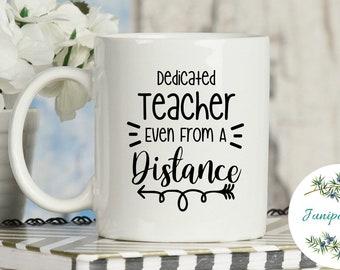 Teacher Appreciation Coffee Mug, virtual remote distance learning