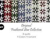 Original Feathered Star Quilts