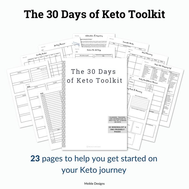 ketogenic diet tool kit