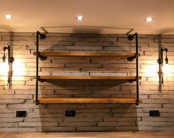 Pipe Fitting Tiered Shelving Unit - Height and Length Customisable