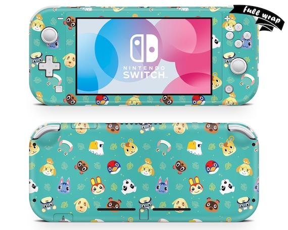 Animal Crossing Nintendo Switch Lite Skin Cute Nintendo Etsy