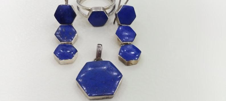 Lapis Jewelley Set
