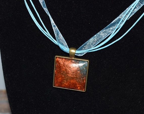 Resin Art Necklace